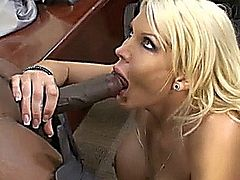 Blonde busty milf Michelle McLaren get her boobs and her pussy checked by Doctor Lex Steele and his big black cock