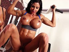Nikita joins gym orgy banging. She is lewd enough to entice you to join her today as she gives us one horny show that is luscious and naughty at the same time.