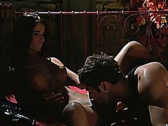 Beautiful Nessa Devil persuated and fucked