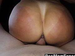Hot MILF with big tits and tan lines