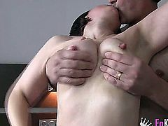 spanish amateur mature couple in their first clip, very sexy.