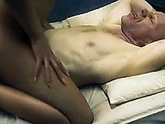 Candy Alexa goes to prison and fucks prisoner's big cock on his bed.