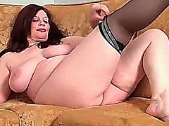 mature hairy bbw 3 this bitch takes my milk