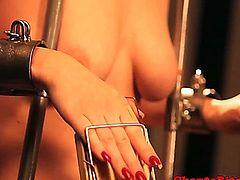Lezdom bdsm slut gets rough treatment by kinky mistress