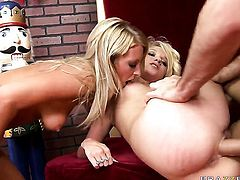 James Deen inserts his love torpedo in bodacious Teagan Summers  Jayla Diamonds mouth
