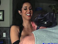 Real cougar wife gets a creampie after bouncing on cock