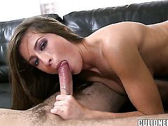 Lizz Tayler satisfies dudes sexual needs and then gets cum drenched