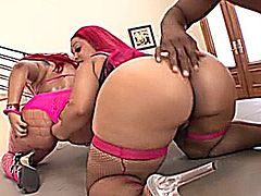 Big Booty Girls Pinky and Vanilla Red getting it in.