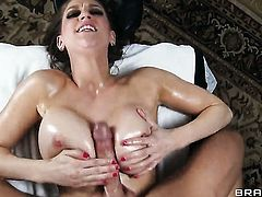 Johnny Sins attacks dangerously sexy Eve LaurenceS muff pie with his love torpedo