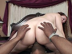 mature wife can't believe the size of this black cock.
