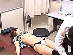 Young Teen paralysed by a perverted doctor and used for his perverted need. Spycam Voyeur File