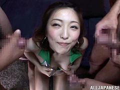 This is a naughty Asian blowjob scene with hot cocks and a horny pussy in a hardcore masturbation with a hot cumshot load in the mouth.