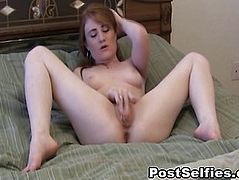 Wild Girlfriend Masturbating Her Pussy To Orgasm