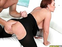 Mature with giant knockers loves to blow and cant say No to her hot bang buddy