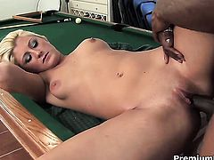 Staci Thorn gets her hole hammered good and hard by her man in a wide variety of positions