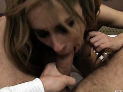 David Perry gets his always hard meat pole used by anal-loving Leyla Black after she gives mouth job