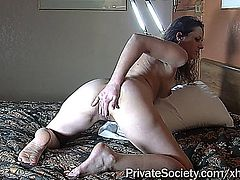 amateur neighbours wife wants to take part in a porn clip and fits well.