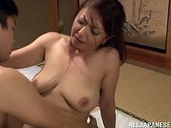 japanese wife with natural tits enjoys her pussy fingered and licked brilliantly she is then bonked in hardcore reality as she moans