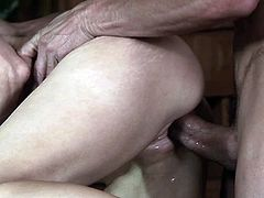 This is a hot fuck scene with a huge cock and a hot pussy getting fucked hardcore doggystyle in hot orgasm.