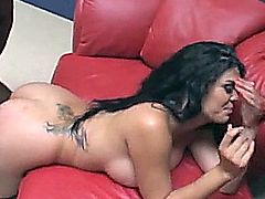 ool ABLE TO SATISFY TWO BEEFY BLACK DICKS IN GANGBANG dp