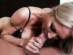 Exotic Emma Starr with huge tits and trimmed cunt gets stuffed to orgasm by Johnny Castle