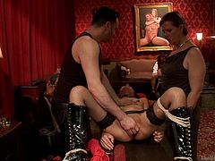 a kinky fun is never stop in this place