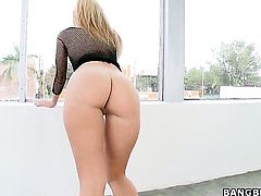 Chicana Jessie Rogers is good at fuck stick sucking and loves it