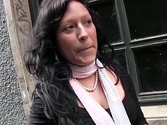 This hot Latina was picked up on the street and tricked into sex by Torbe himself!
