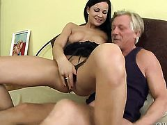 Abbie Cat is horny as hell and fucks with wild passion in this anal action