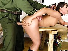 Brunette Agata tries her hardest to make hard dicked fuck buddy bust a nut