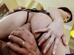 Japanese cutie Marica Hase doesn't speak much English, but boy does this slut know how to fuck! Watch and be in awe, as this tiny whore takes two cocks in all her holes in this double penetration scene!