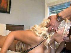 Busty mom Bridgette's huge cum callings are addressed today by this thick cock. She gives him the side of her that is definitely hard to resist and welcomes him inside her tight pussy slit.
