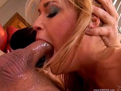 McKenzie Miles enjoys getting her pussy fucked hardcore after deepthroat