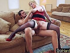 Georgie Lyall Having a field day with her tits porn HD pornstar,milf,mom,secretary,hardcore,office