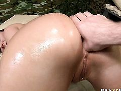 James Deen has fantastic anal sex with Nasty doll Devon Lee with phat butt