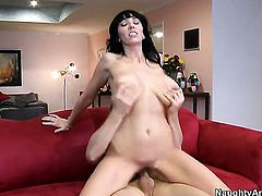 Danny Wylde cant wait any more to stick his tool in bodacious Alia Janines pussy hole