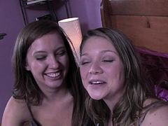 Harley (Stevie Shae) and her college roommates get together every week for a study group, but this week Harley comes home with a video camera and tells her friends about a game called Truth, Dare or Bare. Camera curious and intrigued, her innocent pals have no idea what they are about to get themselves into. From skinny dipping in the neighbor's pool, to seducing the school courier, things get down and dirty in a hurry, but that's what happens when you play Truth, Dare or Bare...get in the game!!
