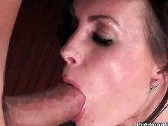 Brandi Edwards has some time to get some pleasure with guys rod in her mouth