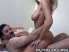 Stunning Jane Darling has a beautiful body, nice big gorgeous tits and a fine booty! She takes it hard and rides that cock better than nobody!