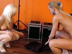 Silvia Saint and Stacy Silver are in the mood for lesbian sex