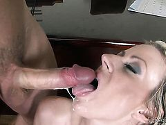 Sascha uses his hard schlong to bring Kristina Rose to the edge of nirvana
