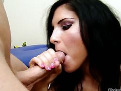 Bettina DiCapri gets stuffed in her muff