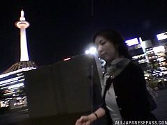 This sexy slut was walking by the Skytree in Tokyo, when I convinced her to come back to my place, to have some hot sex. We got naked and she gave me a great blowjob, before she opened her legs, & I could fuck her so hard.