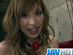 Jav HD brings you a hell of a free porn video where you can see how this hot Japanese brunette gets banged very hard and deep into a massively intense orgasm.