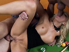 Jenna Lovely gets pumped in her asshole