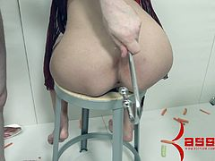 BDSM sex clip with Marica Hase giving head and enjoying doggystyle sex