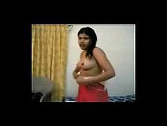 INDIAN - young College Girl after Sex BATHING n DRESSINGUP