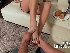 Life Selector brings you a hell of a free porn video where you can see how the sexy blonde Cameron Dee gets banged pov style into a massively intense orgasm.