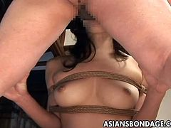 Asians Bondage brings you a hell of a free porn video where you can see how this tied up Asian hottie gets banged very hard and deep into a breathtakingly intense orgasm.
