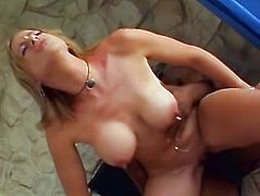 Young mom deepthroats a black cock